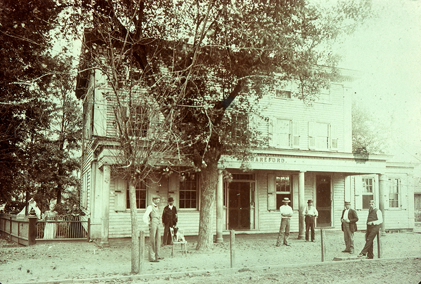 Bareford Hotel - Main & North Maple - now 7-11