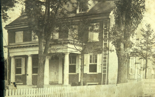 Isaac Stokes House – b. 1842 – 52 East Main