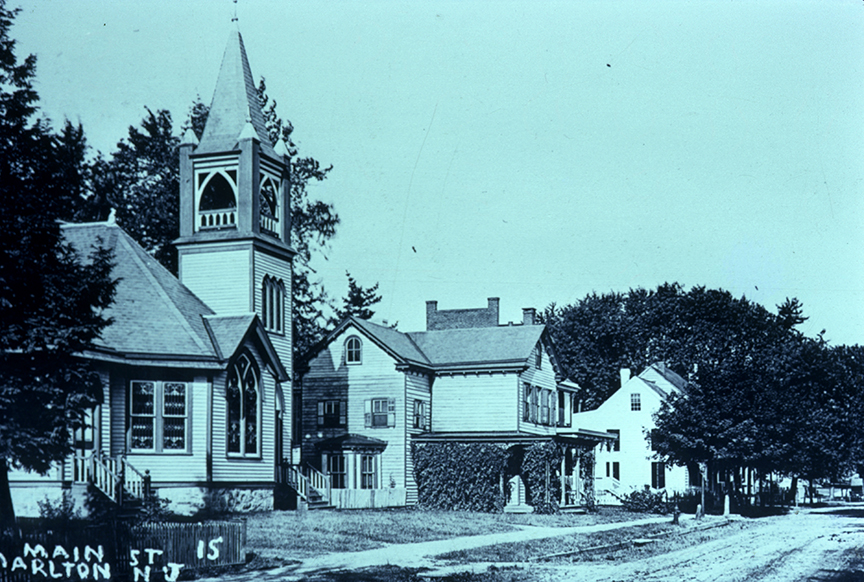 Methodist Church - 43 East Main Street - demolished