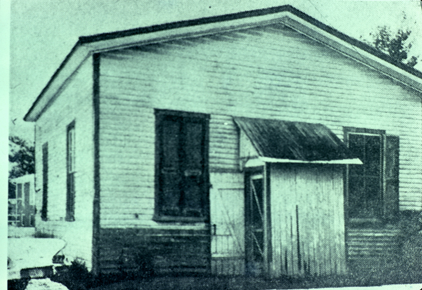 Old Town Hall - b. 1878 - demolished 1966 - Oak Avenue
