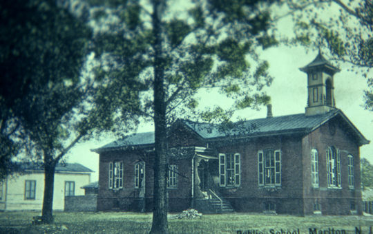 Old Marlton School – b. 1878 Oak Avenue at South Maple