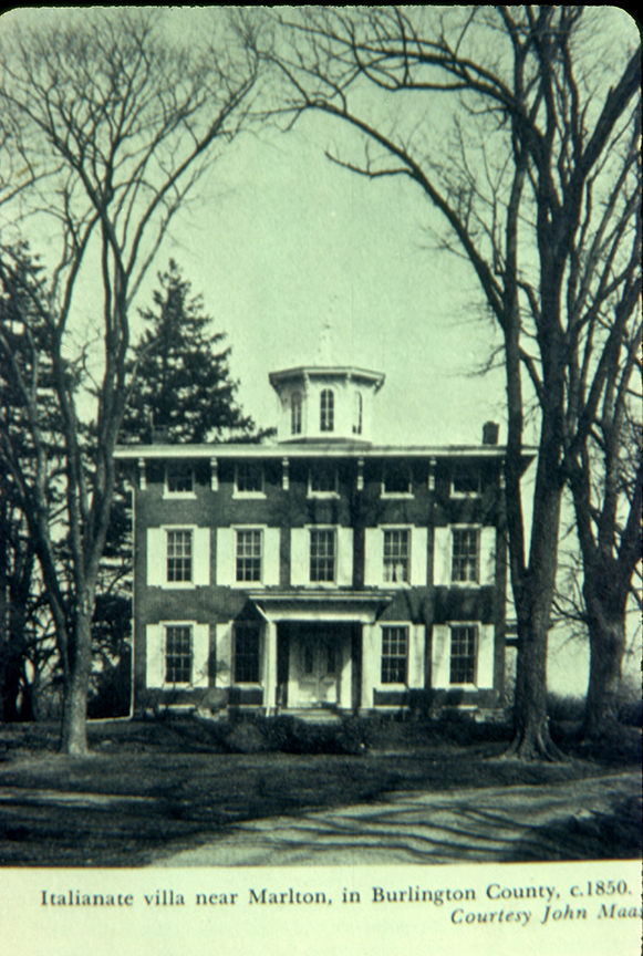Tomlinson Mansion c. 1850-60 - currently owned by Methodist Church